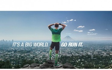 Nya videon från ASICS: It's A Big World. Go Run It.