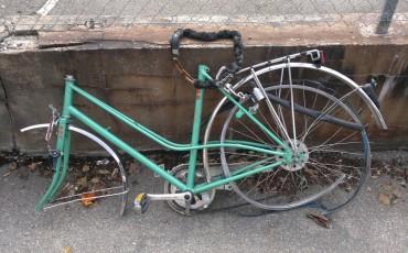 En cykel i förrådet är bättre än tre hos tjuven